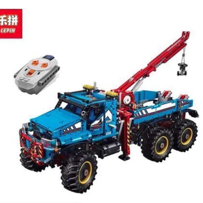 テクニック 6x6 全地形マグナムレッカー車 42070相当 レゴブロック互換品 LEPIN 社