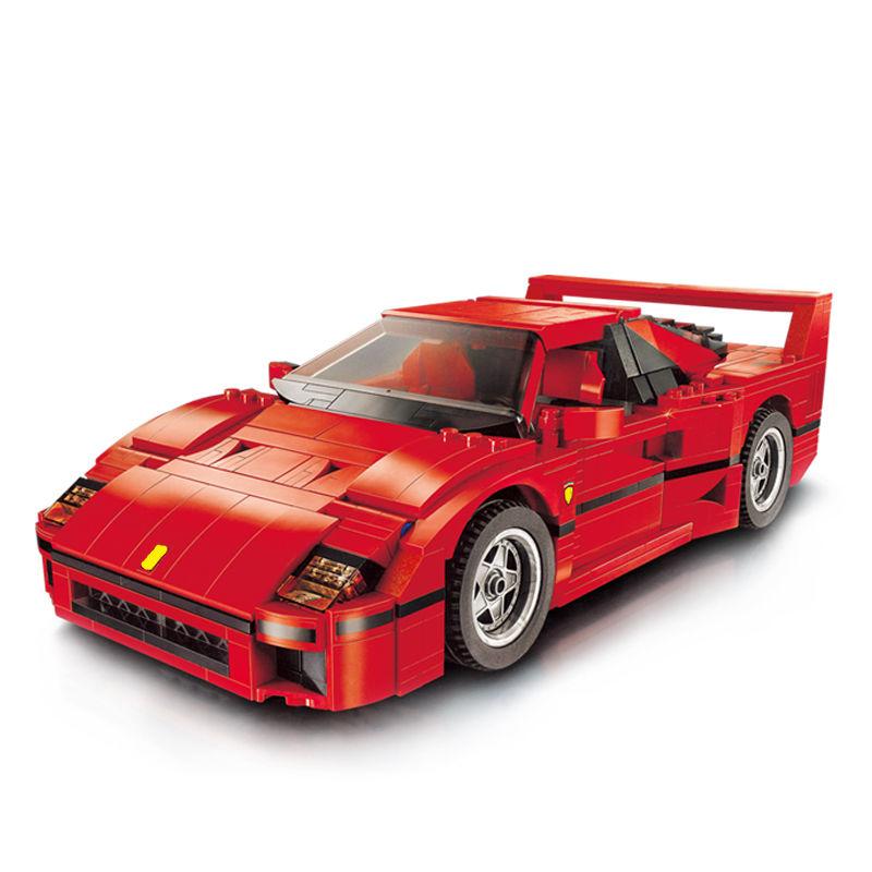 フェラーリ F40タイプ  LEGO互換ブロック 21004