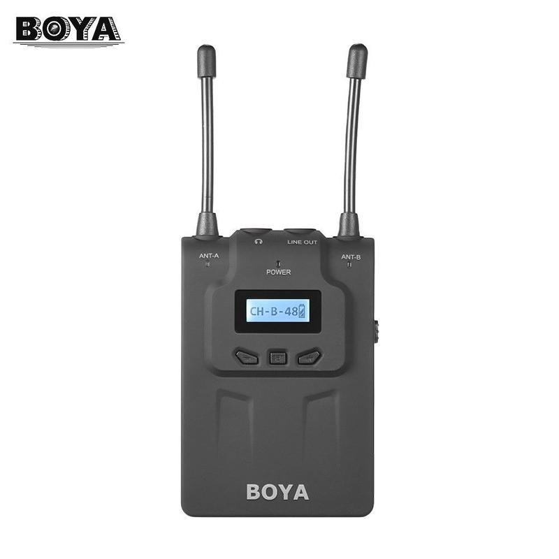 BOYA BY-WM8R UHF Dual-Anrennaワイヤレスマイク
