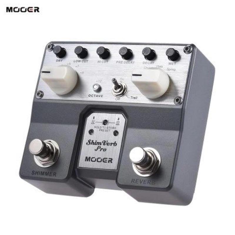 MOOER ShimVerb ギター ペダル エフェクター デジタル リバーブ