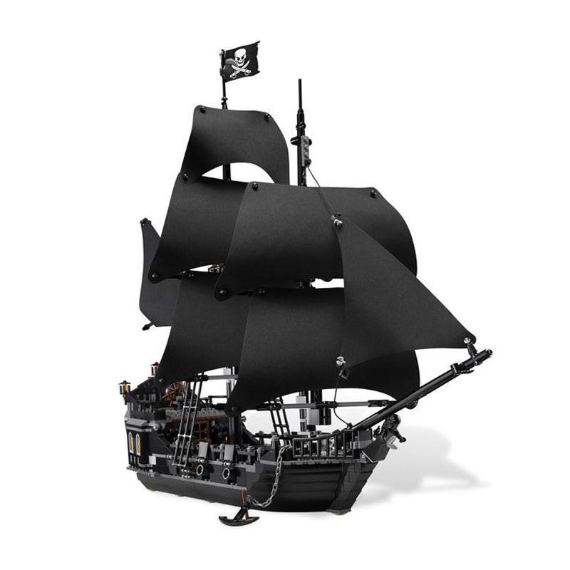 パイレーツオブカリビアン ブラックパール号  LEGO互換ブロック 16006