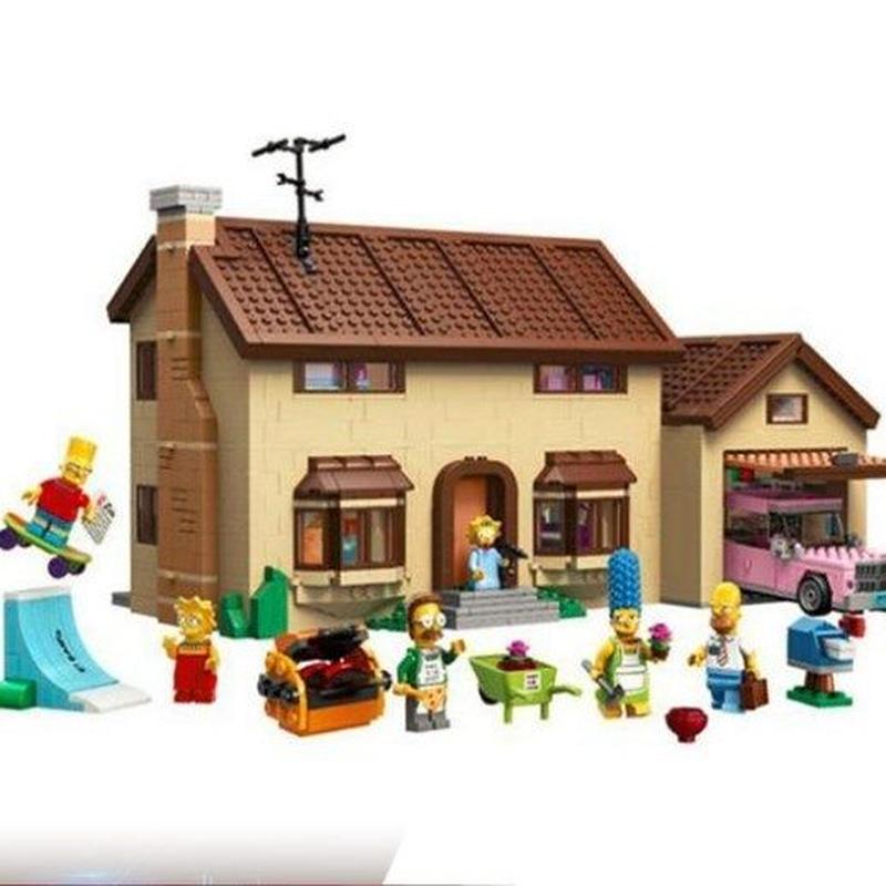 ザ シンプソンズ ハウス レゴブロック互換品  16005