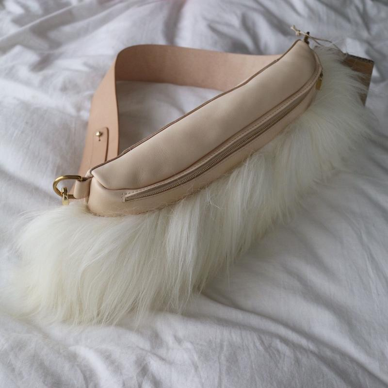 Sheep  Fur body cross bag