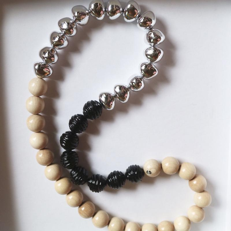 """""""FLORIAN""""mix  modern  necklace"""