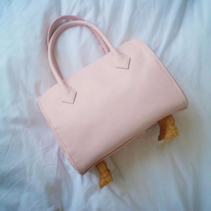 Nude Pink  Hand Bag