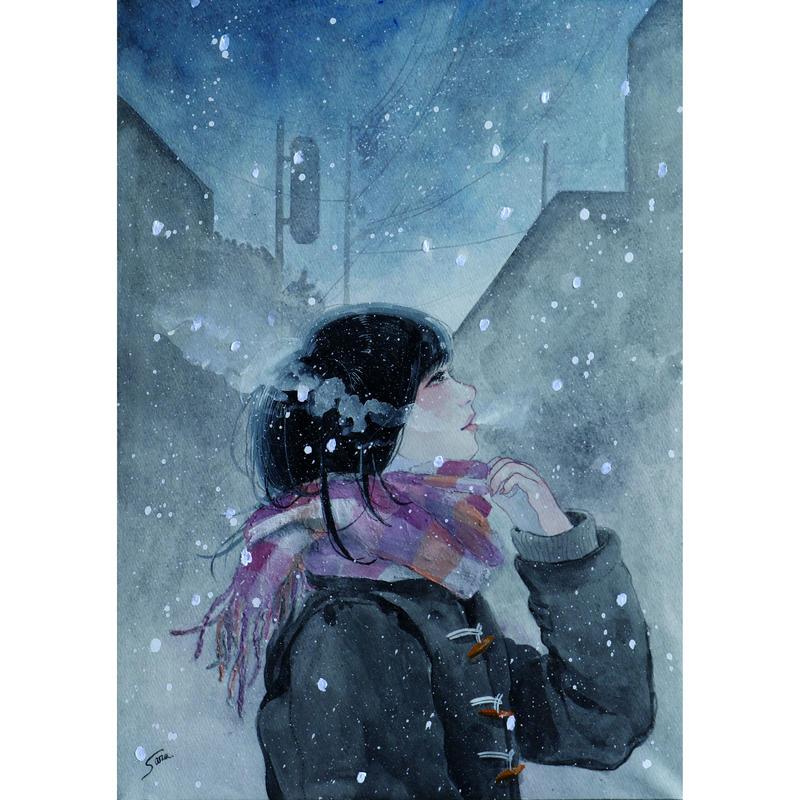 横田紗礼オリジナルポストカード7枚セット「少女B」。