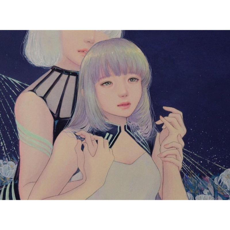 ムラマツチヒロ 原画 「夜の底」