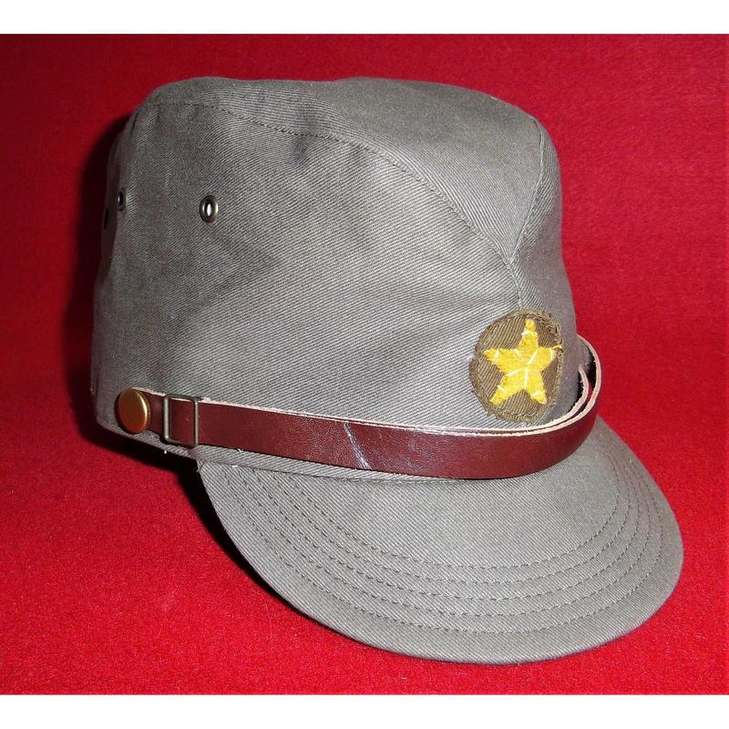 日本陸軍兵用略帽(綿製)
