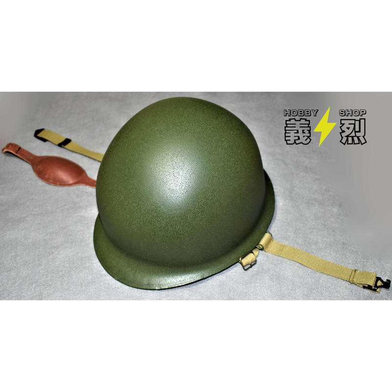 【複製品】WW2 米軍空挺ヘルメットセット (応急処置ポーチ、ネット、麻製偽装布片付属)