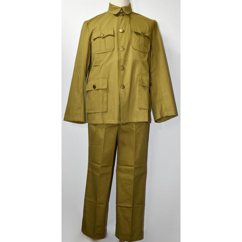 中国国民党軍夏季兵士用軍服(複製品)上下セット