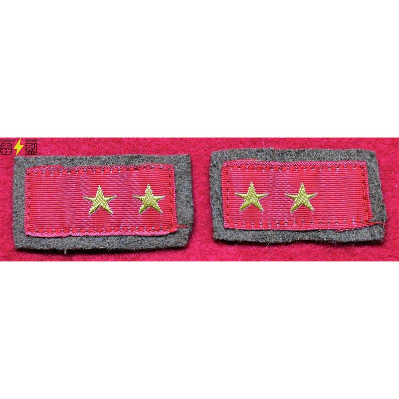 【複製品】日本陸軍三式襟章(一等兵)