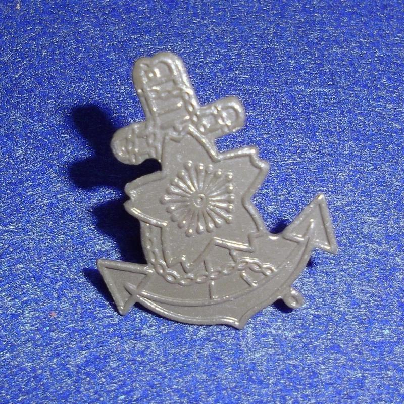 【複製品】日本海軍九〇式鉄帽用帽章