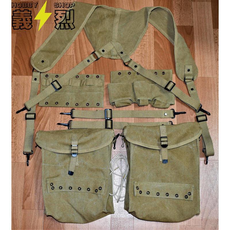 【複製品】WW2米陸軍衛生兵装備セット・アメリカ軍