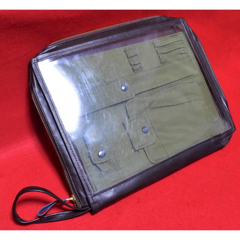 中国人民解放軍65式飛行図嚢(実物)