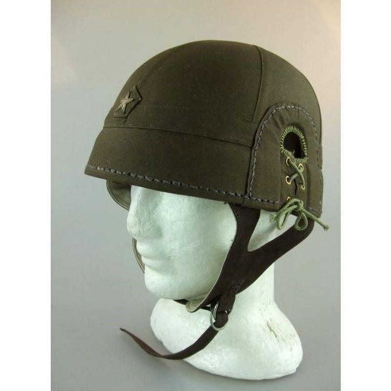 【複製品】日本陸軍戦車兵用ヘルメット(戦車帽)