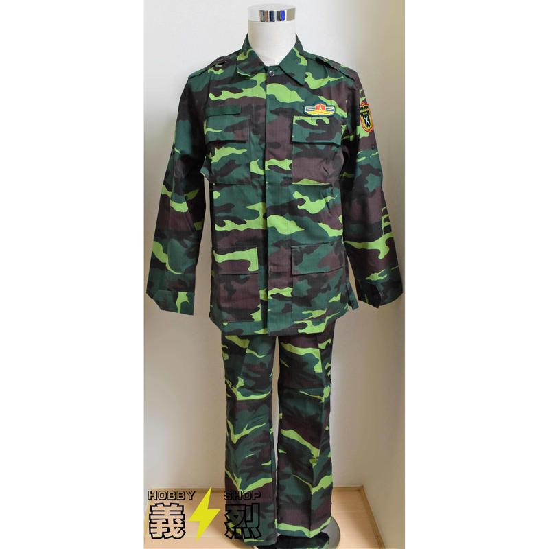 ベトナム人民陸軍現用迷彩服上下