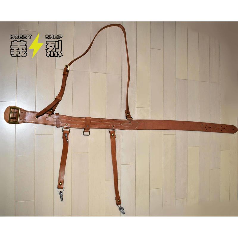 【複製品】日本海軍陸戦隊士官用剣帯(陸戦ベルト)