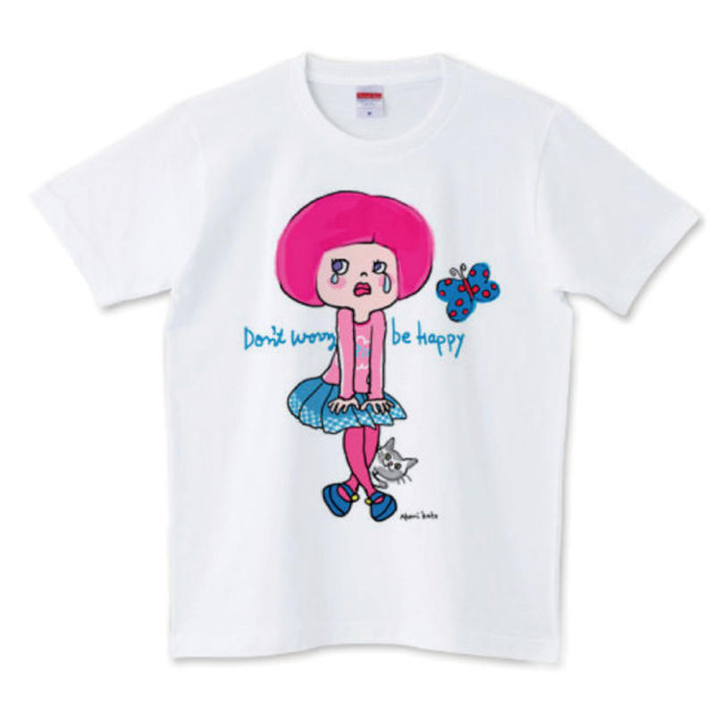 girlちゃんTシャツ(泣かないで!girlちゃん)
