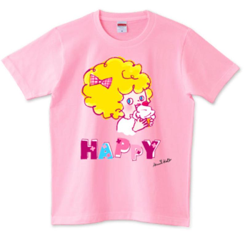 girlちゃんTシャツ(ハッピーガール)
