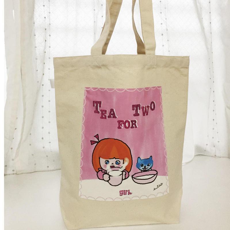 トートバッグ<tea for two>