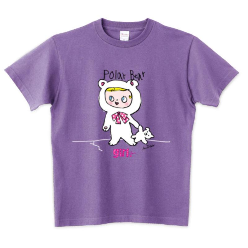 girlちゃんTシャツ(ポーラベア)