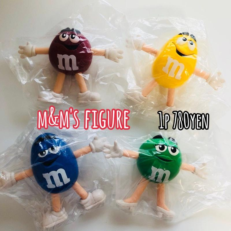 m&m's  BIG フィギュア