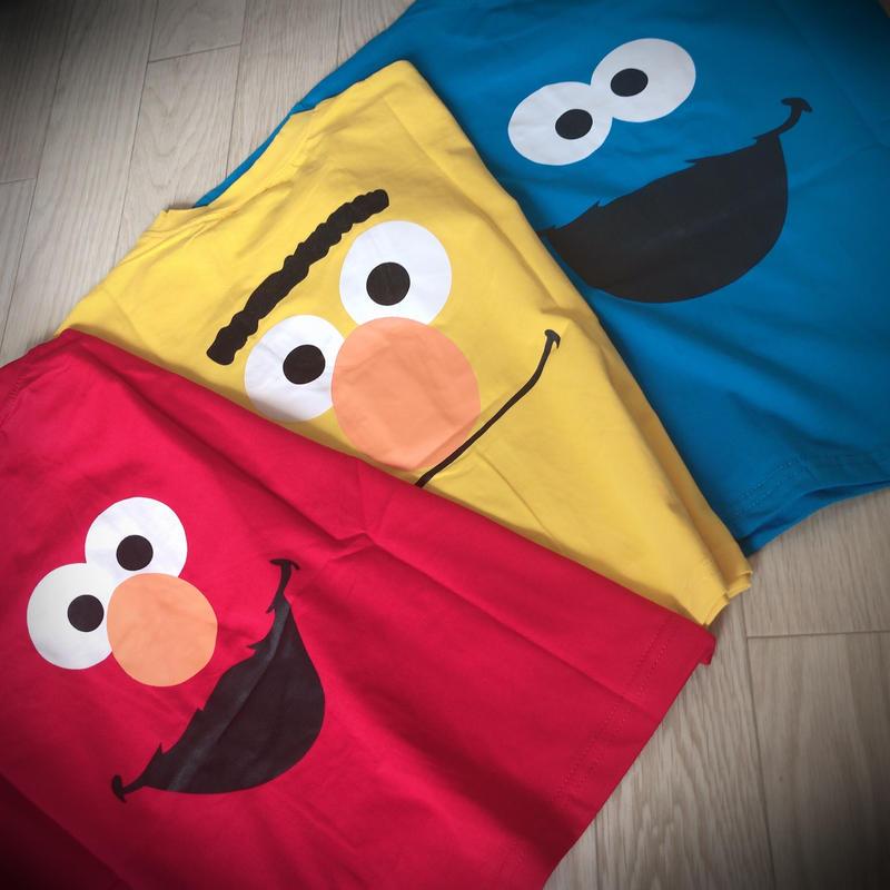 KIDS  セサミストリート Tシャツ