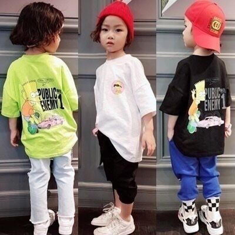 KIDS  シンプソンズ Tシャツ