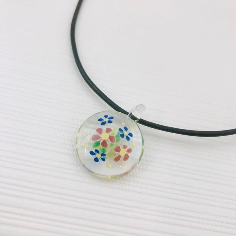 ガラスのブーケ 花束ペンダント GM-12