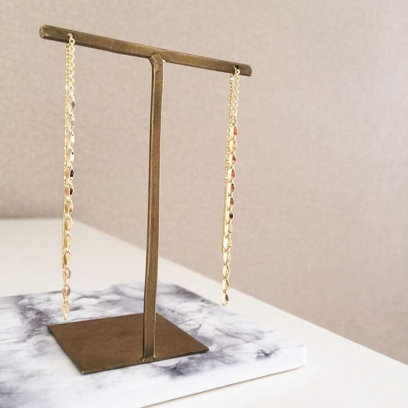 【2 Pattern chain】ピアス