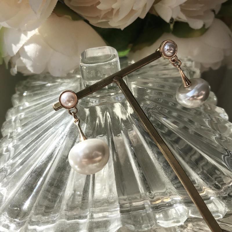 【Plump fruit pearl】ピアス&イヤリング