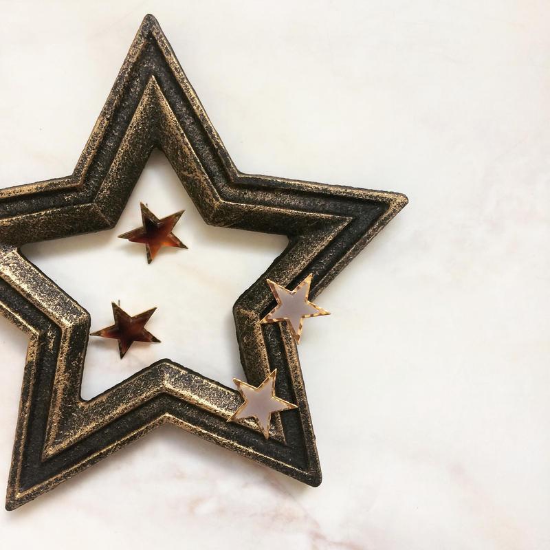 【Double Star】ピアス&イヤリング