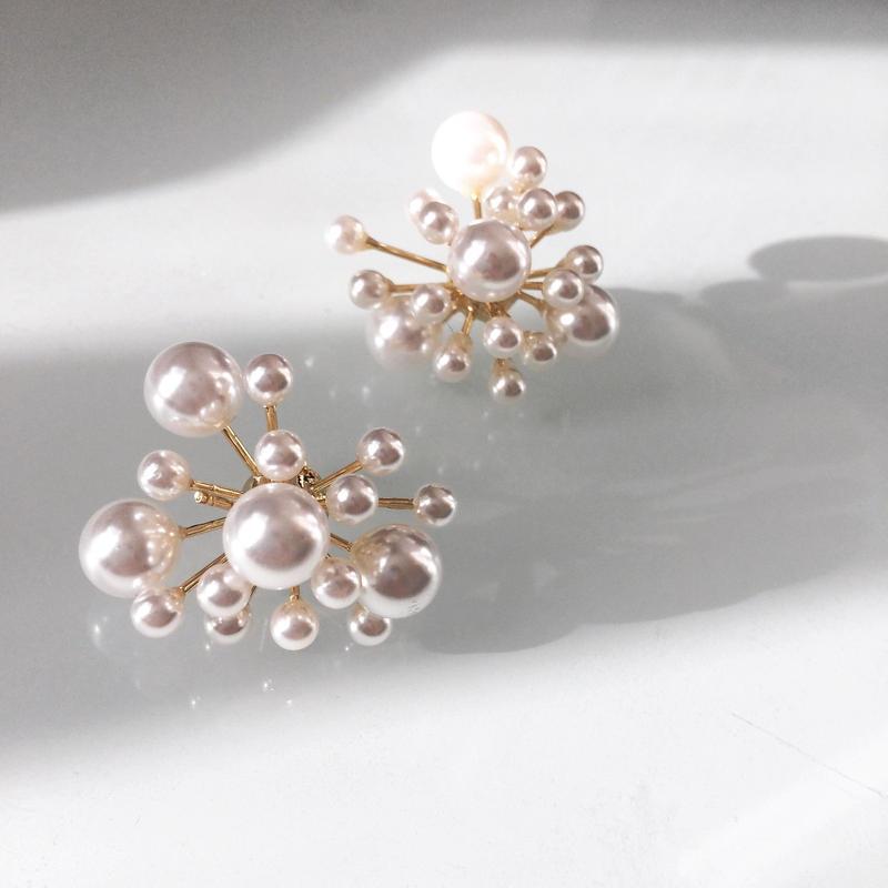 【Pearl like bubbles】ピアス