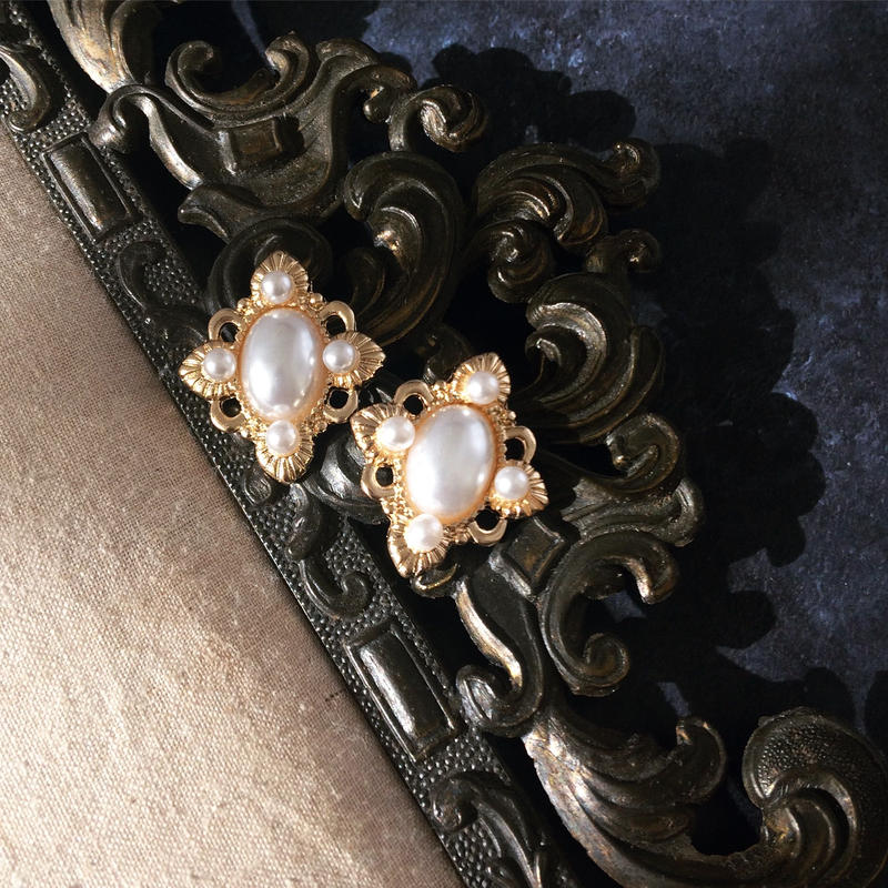 【Royal Pearl】ピアス&イヤリング