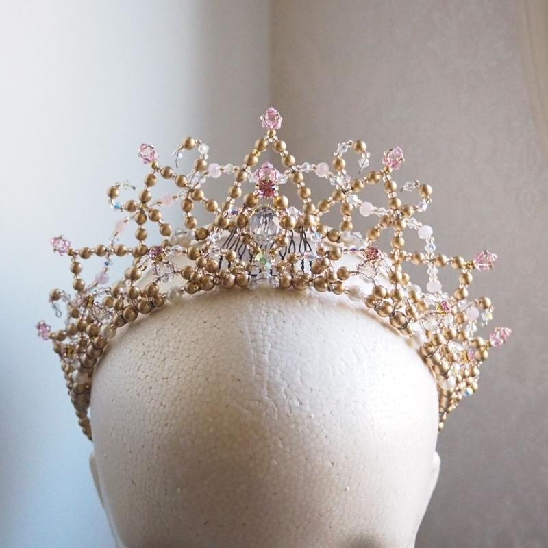 【バレエティアラ】プリンセスカチューシャ2連