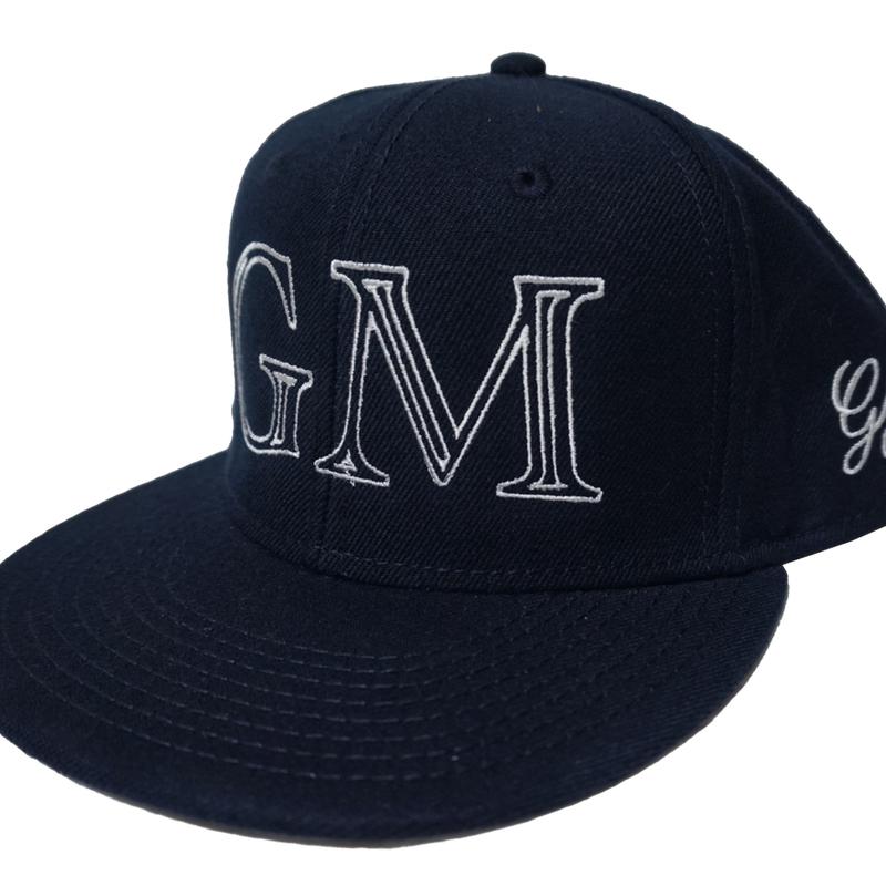 Logo-Snap Back Cap Navy