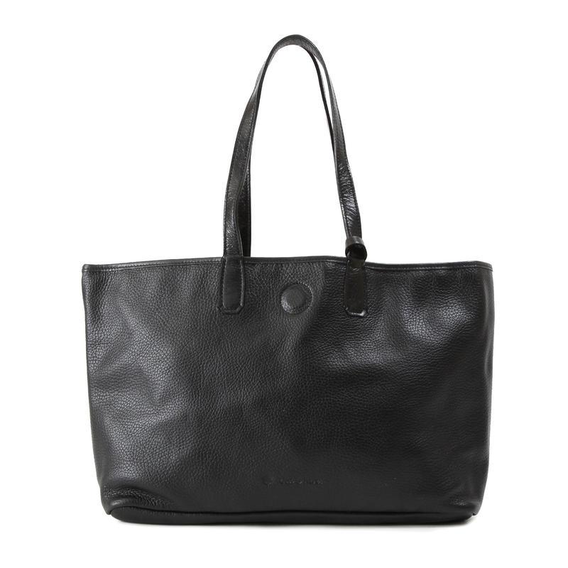 牛革製バッグ/ナオミ ブラックM