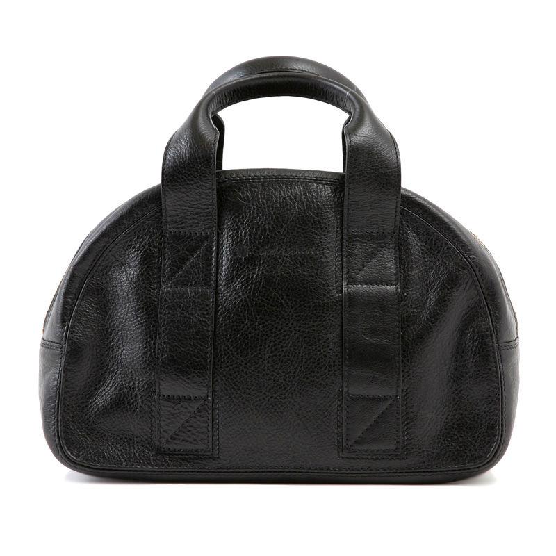 牛革製バッグ/チャーリー ブラック