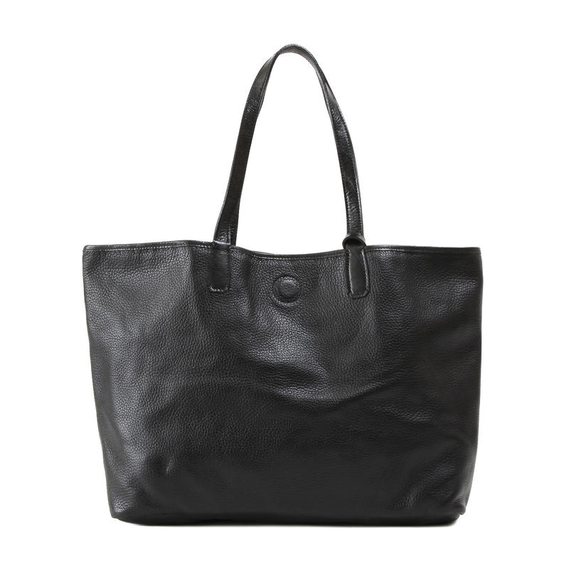牛革製バッグ/ナオミ ブラックL