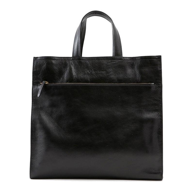 牛革製バッグ/ジェイコブ ブラック