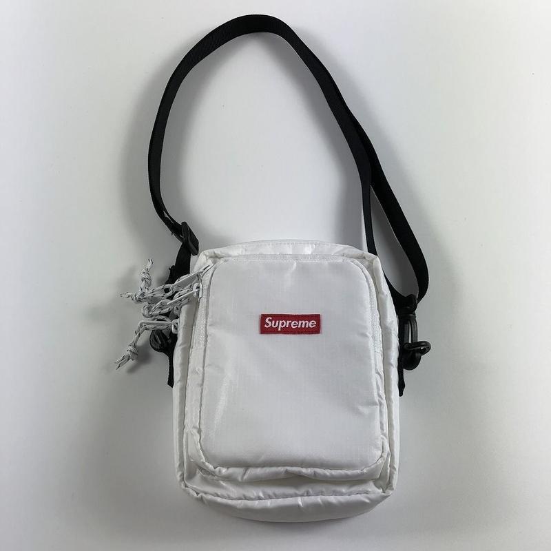 Supreme Small Shoulder Bag White 17AW 【中古】