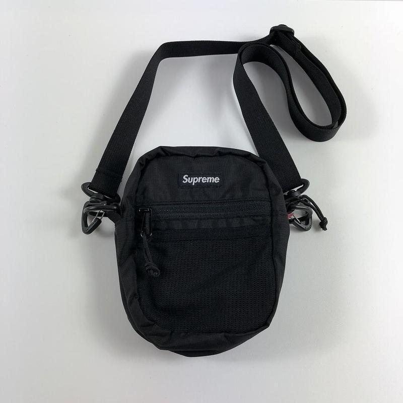 Supreme Small Shoulder Bag Black 17SS 【中古】