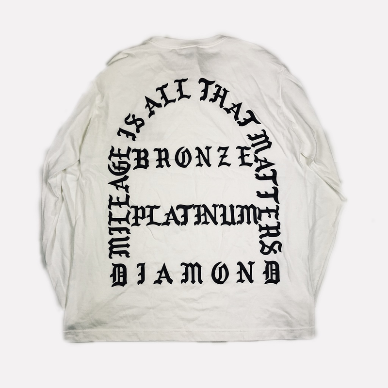 STAR ALLIANCE GOLD CLOTHING L/S TEE WHITE L【中古】