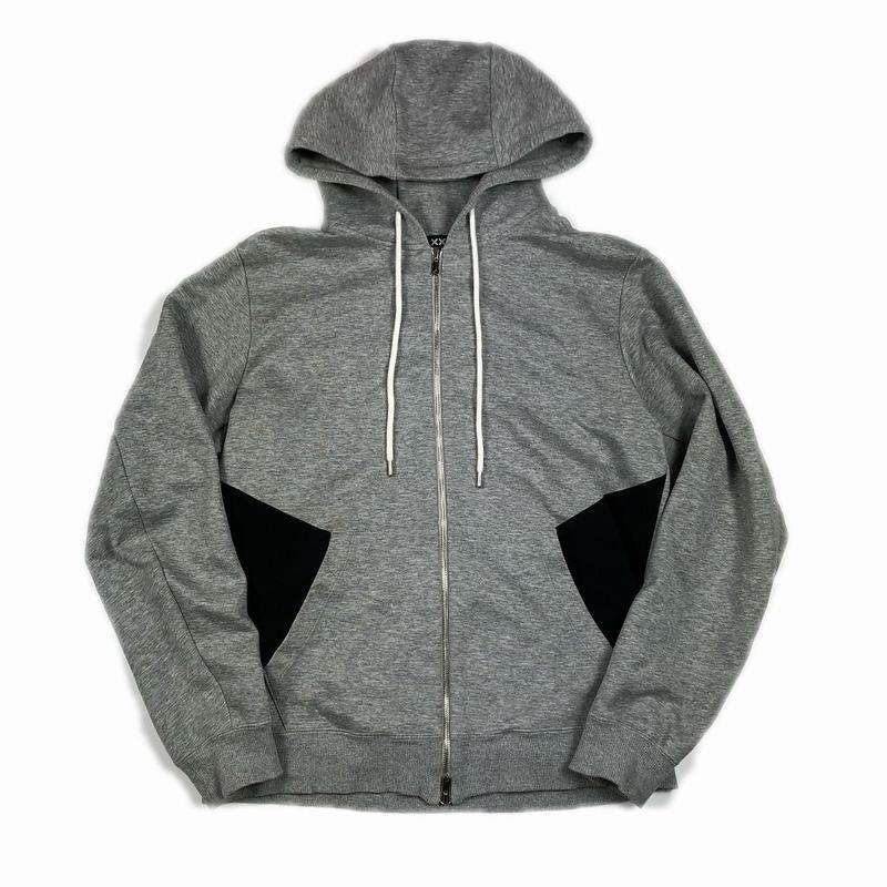 XXIII C'est Vingt-Trois セバントゥア ZIP HOODED SWEATSHIRT GREY XL 【中古】