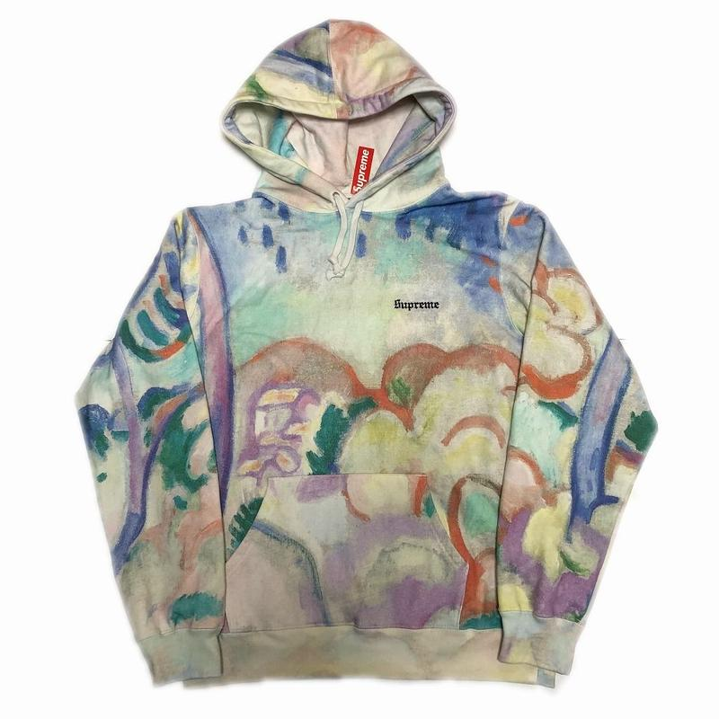 Supreme Landscape Hooded Sweatshirt M 18SS 【新品】