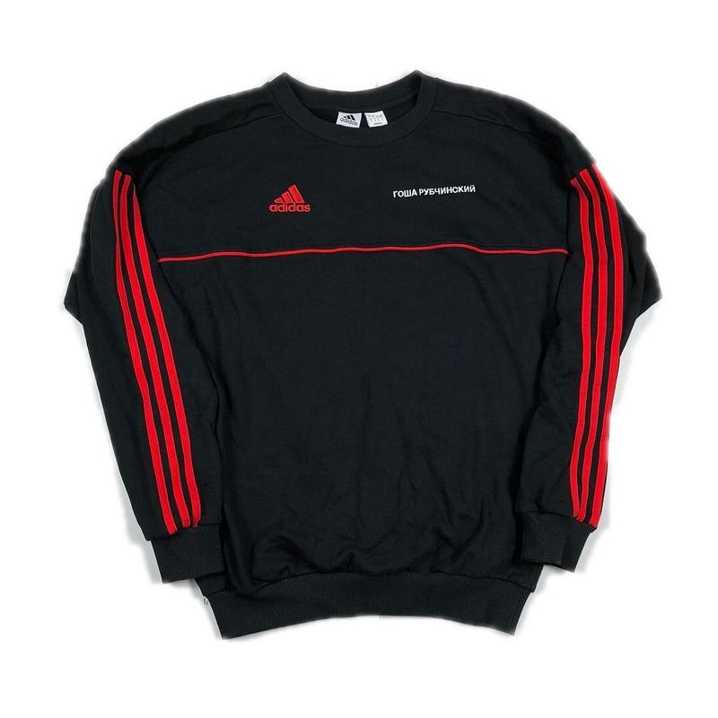 Gosha Rubchinskiy adidas Sweat Shirt Black S 17AW 【中古】