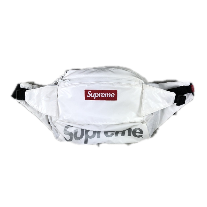 Supreme Waist Bag White 17AW 【中古】