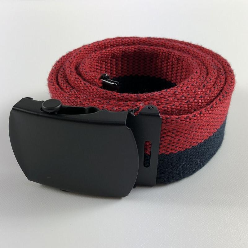 Gosha Rubchinskiy Cotton Belt Blue/Red 18SS 【中古】
