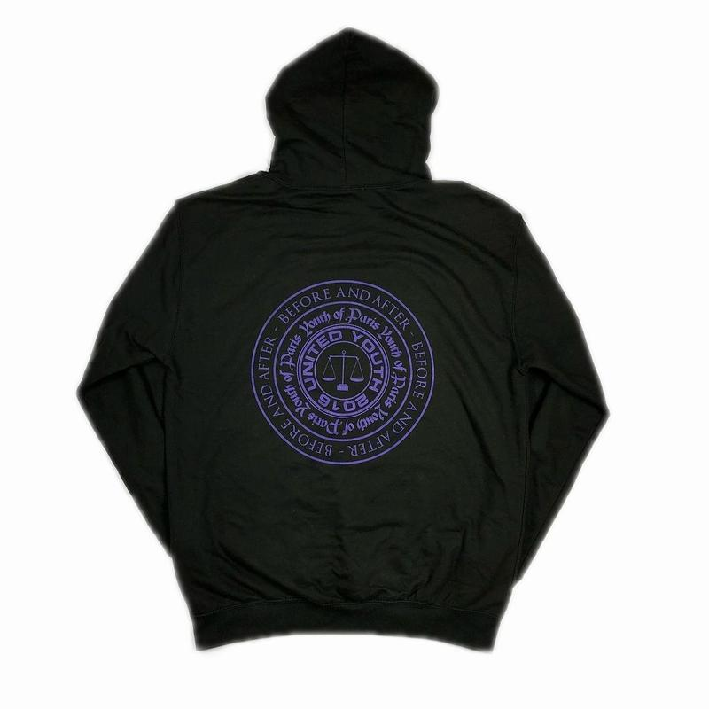 YOUTH OF PARIS CIRCLE LOGO HOODIE 1 【中古】