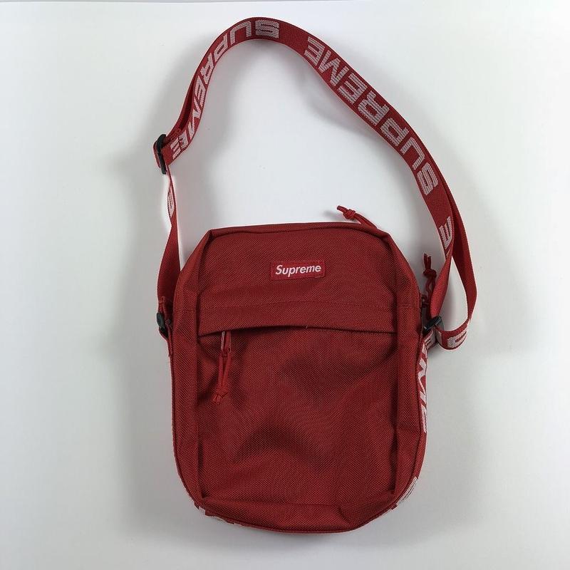 Supreme Shoulder Bag Red 18SS 【中古】